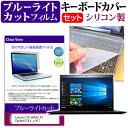Lenovo ThinkPad X1 Carbon 14インチ ブルーライトカット 指紋防止 液晶保護フィルム と キーボードカバー セット 保護フィルム キーボード保護 メール便なら送料無料