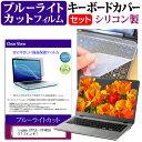 楽天液晶保護フィルムとカバーケース卸iiyama STYLE-17FH055 [17.3インチ] 機種で使える ブルーライトカット 指紋防止 液晶保護フィルム と キーボードカバー セット メール便送料無料