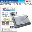 XP-Pen Artist 12 11.6インチ 機種用 ペンタブレット用 ペーパーライク 強化 ガラスフィルム と 同等の 高硬度9H ブルーライトカット クリア光沢 ペンタブレット用フィルム メール便送料無料