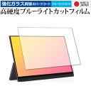 GMK モバイルモニター KD1 専用 強化ガラス と 同等の 高硬度9H ブルーライトカット クリア光沢 保護フィルム メール便送料無料