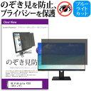 HP ProDisplay P203 [20インチ] 機種で使える のぞき見防止 覗き見防止 プライバシー フィルター ブルーライトカット 反射防止 液晶保護 メール便送料無料