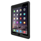 【360日延長保証サービス】【LifeProof】nuud for iPad Air 2 Black 防水・防塵・耐衝撃 ライフプルーフ ケース