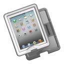 【送料無料】【360日延長保証サービス】【LIFEPROOF】nuud Case &Cover/Stand for iPad Gen 2/3/4 White ホワイト 防水ケース 防塵 耐衝撃 【ca