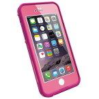 【360日延長保証サービス】【LifeProof】 fre for iPhone6 Power Pink 防水・防塵・耐衝撃 ライフプルーフ ケース