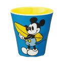【店内1000円以上で送料無料】メラミンコップ270ml ディズニー ミッキーサーフィン