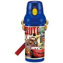 直飲み プラスチック ボトル カーズ カーズ 車 CARS マックィーン ディズニー Disney 男の子 男子 子供 水筒 プラスチック 直飲み キャラクター スケーター