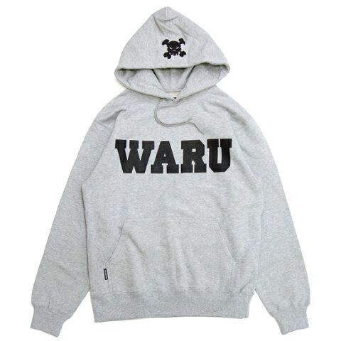 【 送料無料 】【 Santastic! Wear / サンタスティック!ウエア 】 Waru Hoodie ( ワル フーディ ) / グレー ( 井上三太 TOKYOTRIBE トーキョートライブ ) ( SANTASTIC! WEAR サンタスティック!ウエア )