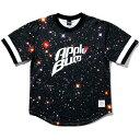 APPLEBUM アップルバム ベースボールシャツ applebum GALAXY BASEBALL CREW 送料無料 半袖 クルーネック おしゃれ プレゼント マルチカラー M-XL 2010104