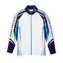 ダイワ ロングスリーブメッシュシャツ DE-7504 ブルー 2XL