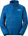 ダイワ DJ−5104 プリマロフトハーフジップアップ ジャケット ブルー L