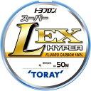 東レ トヨフロン スーパーL EXハイパー (フロロ) 4号 50m