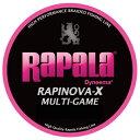 ラパラ ラピノヴァ・エックス マルチゲーム 100m 0.4号/8.8lb ピンク