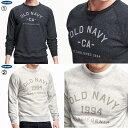 S/M/L/XL/XXL/XXXLサイズ オールドネイビー スウェットシャツ メンズ OLD NAVY 大きいサイズ メンズ【10P03Dec16】