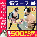 【エントリーでポイント最大10倍】\売り尽くし!!/猫ワープ...