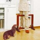 《当店イチオシ★!!》木製ペットゲート ブラウン PG-60[アイリスオーヤマ犬猫柵仕切りペットフェンス] キャットランド