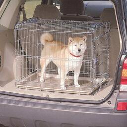 折りたたみケージ OKE-750 送料無料 犬 ケージ ペット 簡易 ゲージ おでかけ 旅行 遠出 移動用 車 折りたためる サークル ハウス キャリー 室内 犬小屋 キャリーケース アイリスオーヤマ キャットランド 楽天