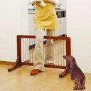 木製ペットゲート PG-90 (高さ50cm) 犬 サークル 囲い 柵 仕切り 室内用 リビング 屋内 ペットフェンス いたづら防止 ペット用品 アイリスオーヤマ キャットランド 楽天