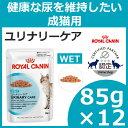 ロイヤルカナン 猫 FHN ウェット ユリナリーケア 85g×12個セット あす楽対応 健康な尿を維持したい成猫用 尿路結石 キャットフード ウェットフード パ...