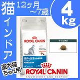 ロイヤルカナン 猫 インドア 4kg[キャットインドア インドアキャット ドライフード ROYAL CANIN][AA]【D】【0530pefl】【RCP】[3182550706933]