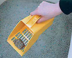 【エントリーでポイント最大4倍!】すくって運んでネコ砂スコップ [猫 ネコ スコップ 猫砂 ネコ砂 トイレ] キャットランド