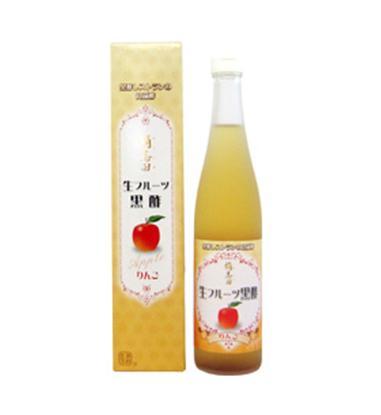◆ 代引不可 ◆【桷志田】生フルーツ黒酢/りんご