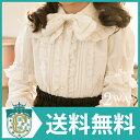 女の子 ハートリボンのアリス2WAYブラウス[子供服 フォー...