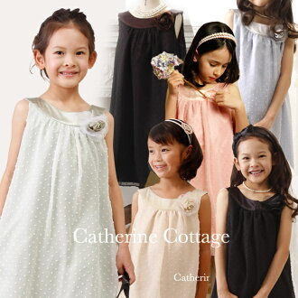 Curved neckline chiffon polka dot dress[fs01gm]