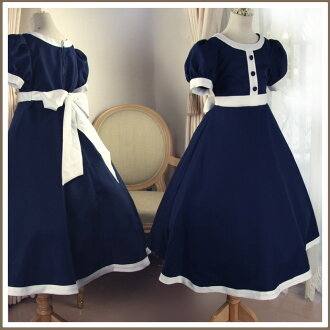 Dark Navy Blue Retro style dress