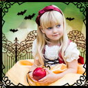 ハロウィン 衣装 子供 白雪姫 メルヘンレースアップドレス[...
