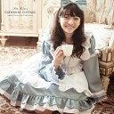 衣装 ジュニア ドレス 水色 アリス エプロンドレス [女の子 コスチューム ジュニア 140 15 ...