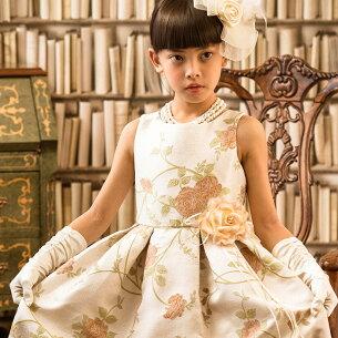 ジャガードドレス フォーマル ジュニア