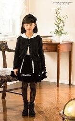 ベロアスカート黒フォーマル