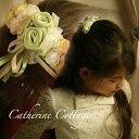 【送料無料】パールつきフラワーコーム 髪飾り 子供 ヘアアクセサリー 結婚式・発表会・七五三 ドレスや着物ドレスに合わせてどうぞ。【smtb-m】