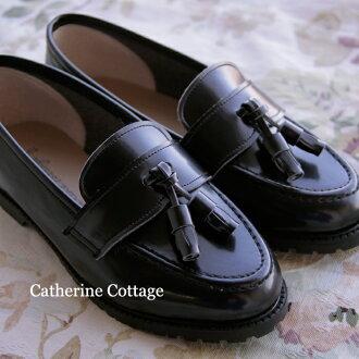 低毛皮小孩鞋上幼兒園上學畢業入學屬于P的流蘇皮鞋