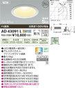 【全品送料無料】コイズミ照明 ダウンライト【AD43091L】[新品]【RCP】