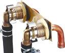 【全品送料無料】【0703545】ノーリツ 給湯器 関連部材 循環アダプターHX ユニットバス貫通金具Q型【RCP】