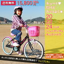 【送料無料】子供自転車 スワロージュニアシティサイクル キッズバイク 子供用自転車 子供車 自転車安全整備士が点検、整備して組立するので安心安全 届いたらすぐ乗...