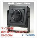 (今なら送料無料!!)マイク内臓超小型カラーCCDカメラ(TR-07CPM)