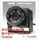 (今なら送料無料!!)赤外線投光器内臓超小型カラーCCDカメラ(TR-09CW)