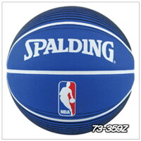 73-359Z)ロゴマン バスケットボール 7号 ラバー [SPALDING]スポルディングの画像