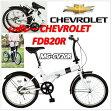CHEVROLET(シボレー) FDB20R 折りたたみ自転車20インチ(MG-CV20R)