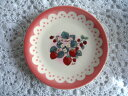 Maison de Many(メゾン・ド・マニー)ラフレーズ 陶器プレートS ピンク