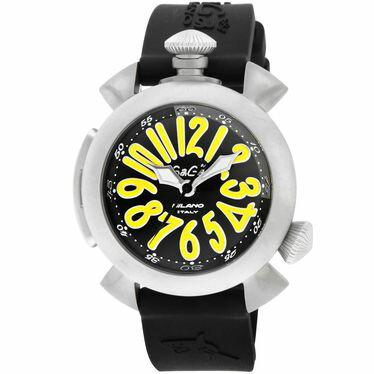 GAGA MIOLANO ガガ ミラノ 腕時計 DIVING48MM 5040.2-BLK RUBBER ブラック オンライン ラバーベルト ●【新品・未使用・正規品】:セレクトショップ Cavallo【送料無料】