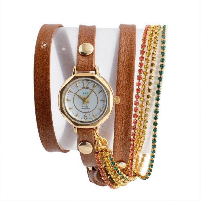 ラメール コレクション LA MER COLLECTIONS LMDELCRY1502 レディース 腕時計【r】【新品/未使用/正規品】 【送料無料】