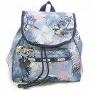 LeSportsac レスポートサック 9808-P938 SMALL EDIE BACKPACK ディズニー エディ リュックサック VACATION PARADISE【f】【新品/未使用/正規品】
