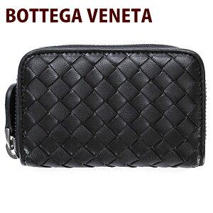 ボッテガヴェネタ ボッテガ・ヴェネタ レディース ラウンド ファスナー コインケース ブラック