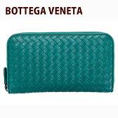 送料無料/新品 ボッテガヴェネタ BOTTEGA VENETA 財布 長財布 メンズ ラウンドファスナー ブルーカナール 114076 V4651 4409 正規品/通販/ブランド品/ボーナス サマーセール/新作