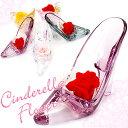 送料無料 新品 プリザーブドフラワー【枯れない花】カーネーション ギフト 枯れないお花 ガラスの靴 硝子のくつ レデ…