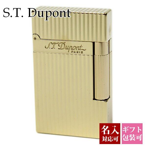 エステー デュポン S.T.Dupont ライター メンズ 喫煙具 LIGNE2 ライン2 モンパルナス ヴァーティカルライン イエローゴールド 16827 正規品 セール あす楽ブランド 新品 新作 2018年