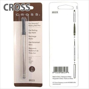 クロスCROSSボールペン替え芯レフィルローラーボール水性ジェルインクローリングブラック8523